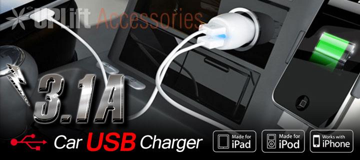 3.1A Car USB Charger
