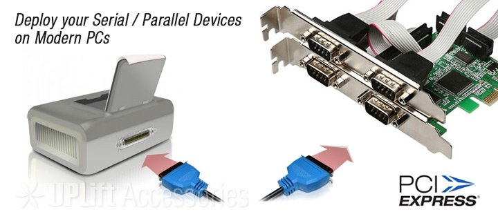 4-Serial Port Expansion Card (PCI-E)