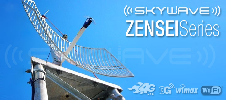 Zensei Parabolic Grid Antenna for Ultera