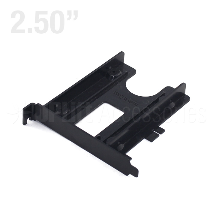 "PCI Slot Bracket for 2.5"" HDD Plastic Type (Black)"
