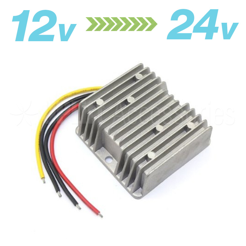 12V to 24V Step-Up DC Buck Converter
