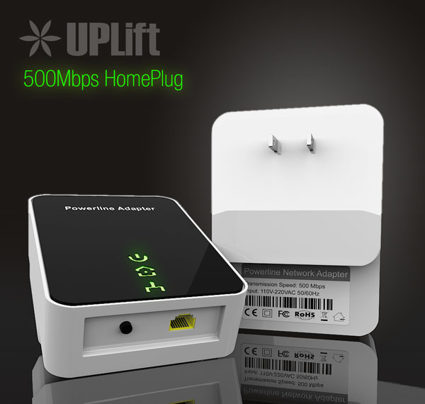 500Mbps Homeplug / Powerline
