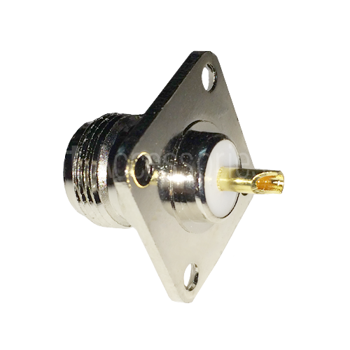 N-Female Flange-Type Jack (Cable Type)