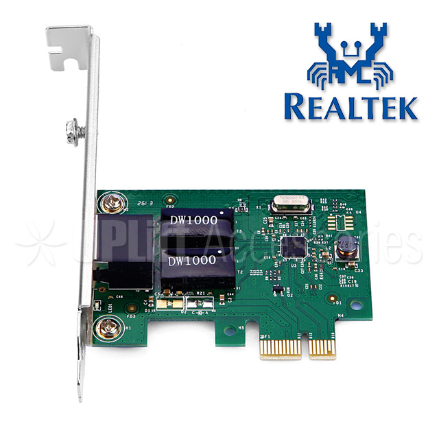 Realtek Gigabit Ethernet LAN Adapter 1-Port (PCI-E)