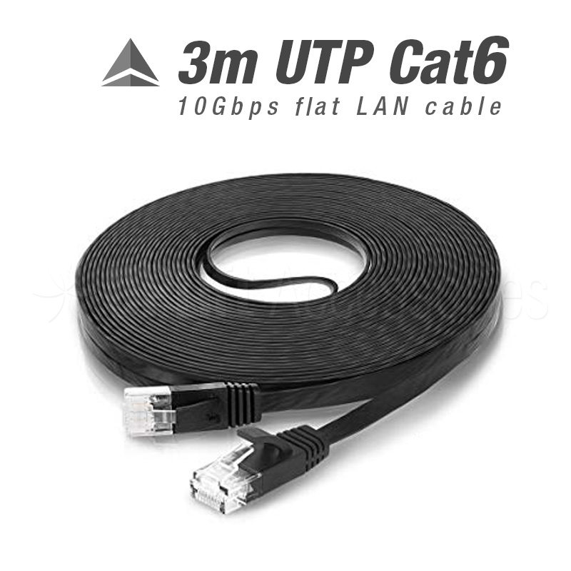 Cat6 UTP LAN Patch Cable (3m)