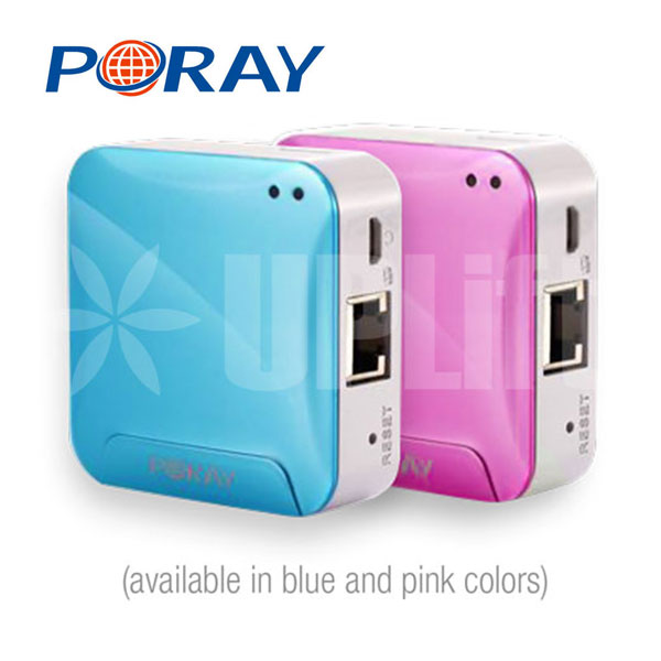 Poray® Mini 3G/DSL Router