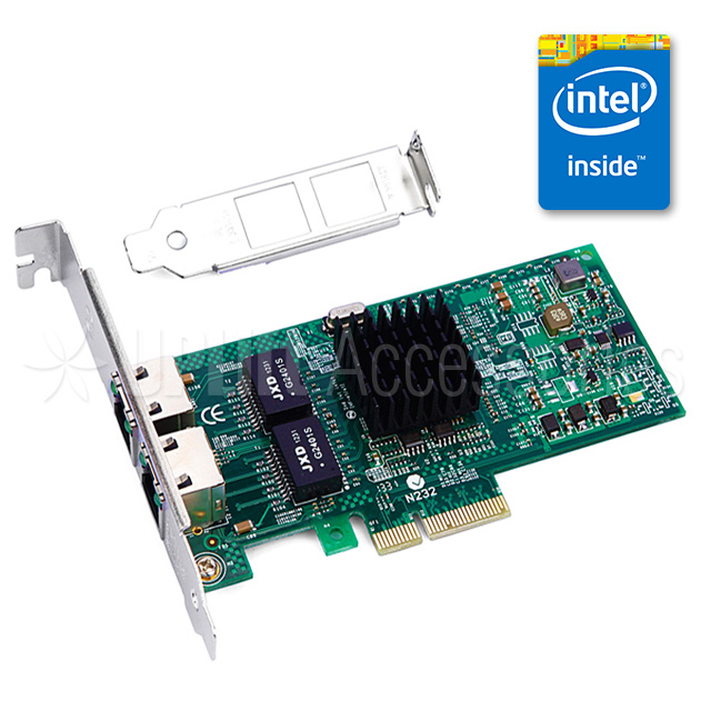 Intel I350 Gigabit Server Ethernet Adapter 2-Port (PCI-E)
